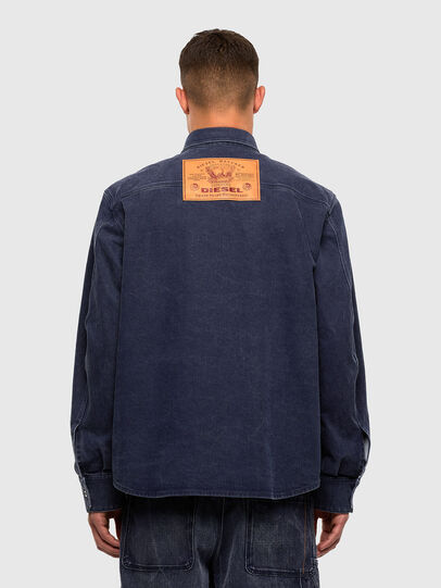 Diesel - D-VERSO, Dark Blue - Denim Shirts - Image 2