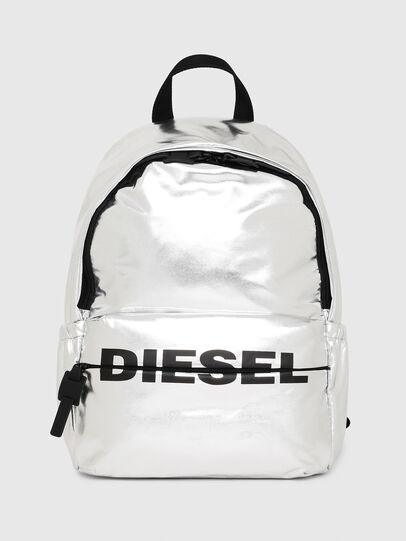 Diesel - F-BOLD BACK II, Silver - Backpacks - Image 1