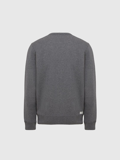 Diesel - UMLT-WILLY, Grey Melange - Sweaters - Image 2