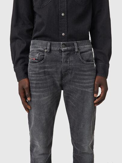 Diesel - D-Viker 09B42, Black/Dark grey - Jeans - Image 3
