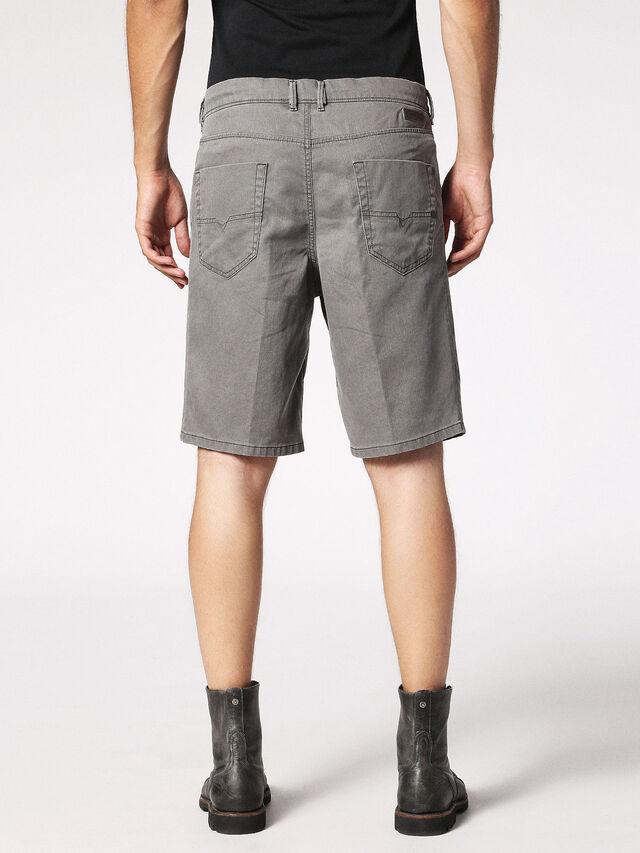 Diesel - CHINO-SHORT JOGGJEANS, Grey - Shorts - Image 2