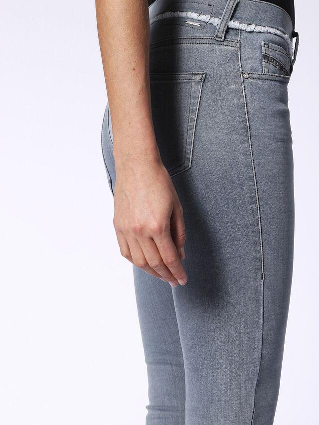 SLANDY-ANKLE-W 084QB, Grey Jeans