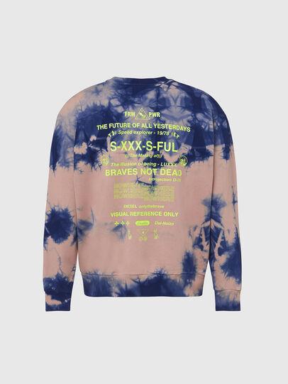 Diesel - S-BIAY-X10, Pink/Blue - Sweaters - Image 2