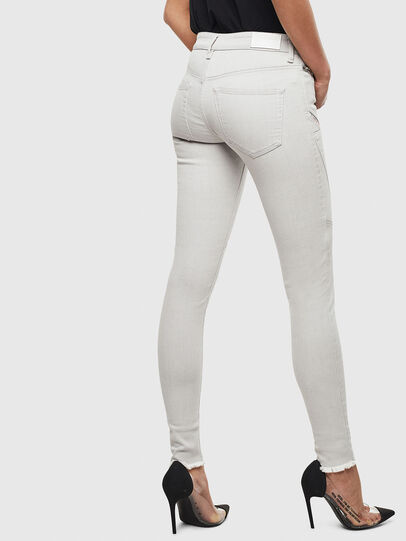 Diesel - Slandy 0097F, Light Grey - Jeans - Image 2