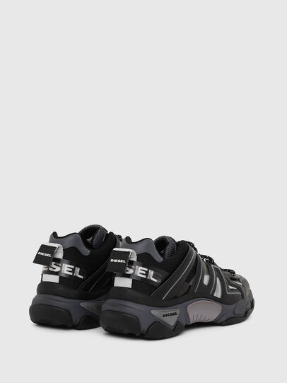 Diesel - S-KIPPER LOW TREK, Black - Sneakers - Image 3