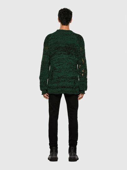 Diesel - K-FLYNN, Green - Knitwear - Image 6