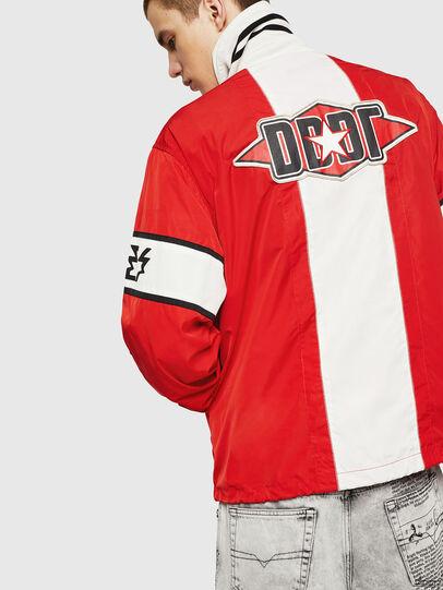 Diesel - J-OZOL, Red - Jackets - Image 2