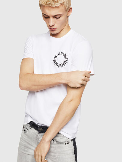 Diesel - T-DIEGO-A12, White - T-Shirts - Image 1