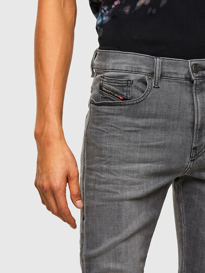 Diesel - D-Amny 009NZ, Black/Dark grey - Jeans - Image 3