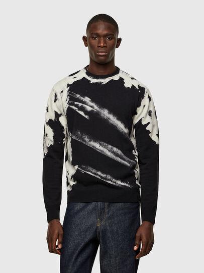 Diesel - K-NITRO, Black - Knitwear - Image 1