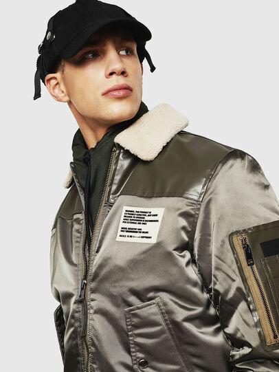Diesel - W-FEDOVIK, Military Green - Winter Jackets - Image 5