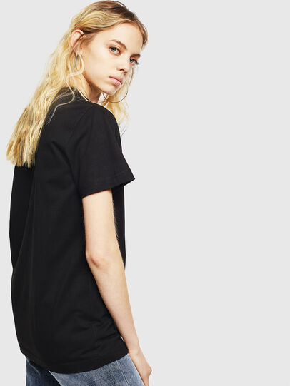 Diesel - T-DIEGO-DIV, Black - T-Shirts - Image 4