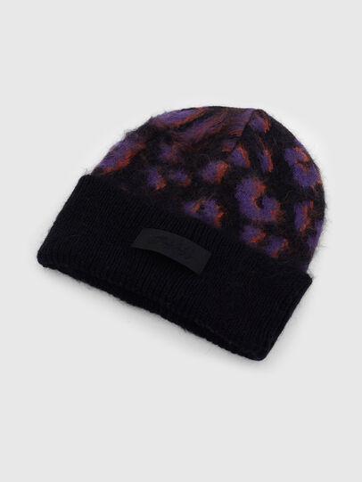 Diesel - K-TAYLER, Black/Violet - Knit caps - Image 3
