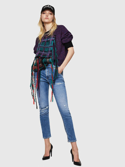 Diesel - Krailey JoggJeans 069IH, Light Blue - Jeans - Image 6