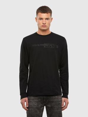 T-DIEGOS-LS-X5, Black - T-Shirts