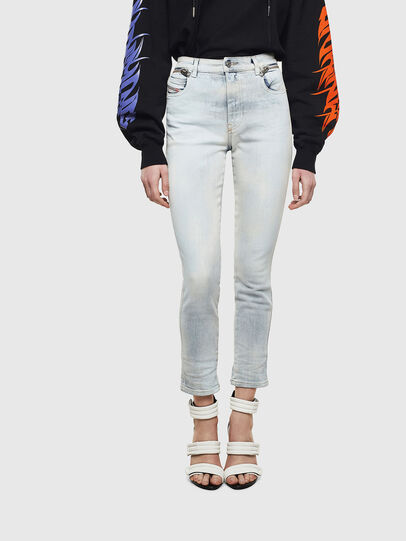 Diesel - Babhila High 009AX, Light Blue - Jeans - Image 1