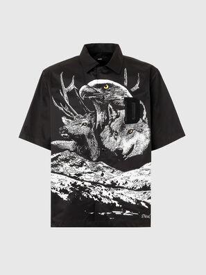S-WOLF, Black - Shirts