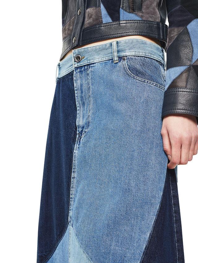 Diesel - ODETTE, Blue Jeans - Skirts - Image 4