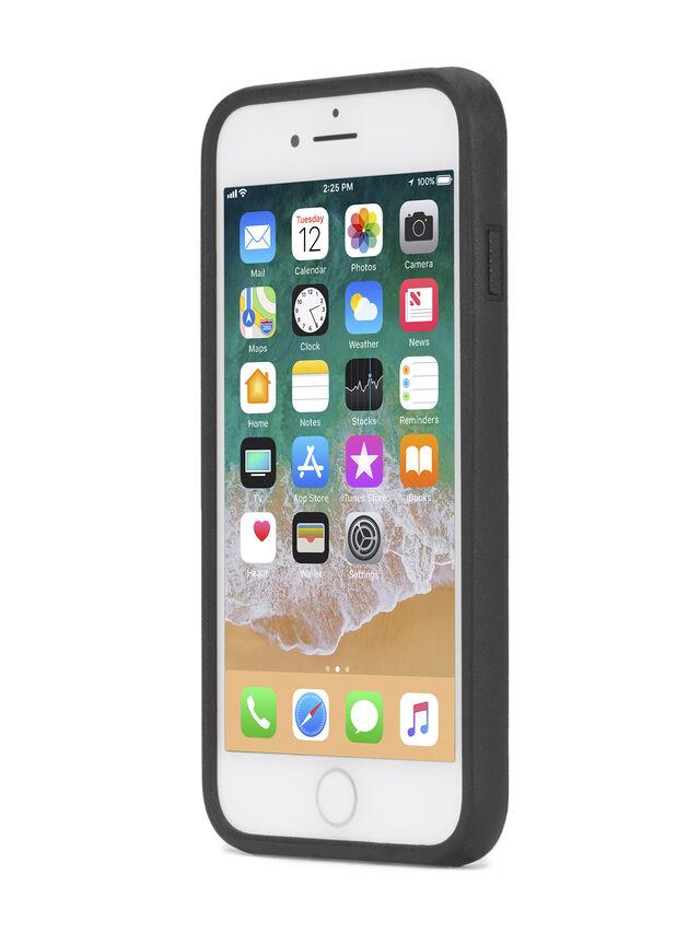 ZIP BLACK LEATHER IPHONE 8/7/6s/6 CASE, Black