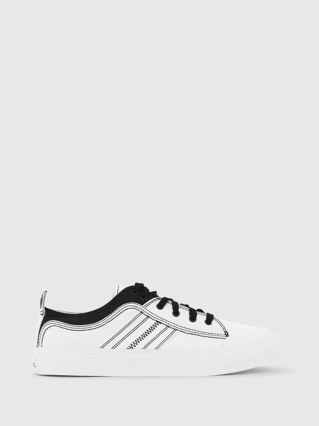 Diesel - S-ASTICO LOW LACE, White/Black - Sneakers - Image 1