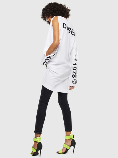 Diesel - T-ROSY, White - T-Shirts - Image 5