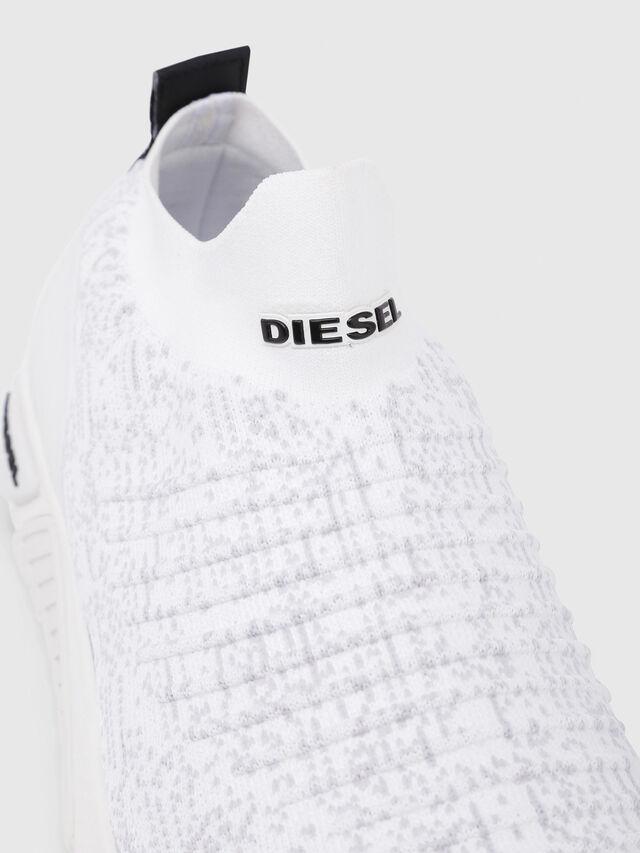Diesel - S-KB ATHL SOCK, White - Sneakers - Image 5