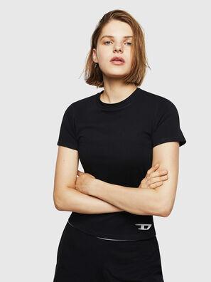 UFTEE-ROUNDFEM, Black - T-Shirts