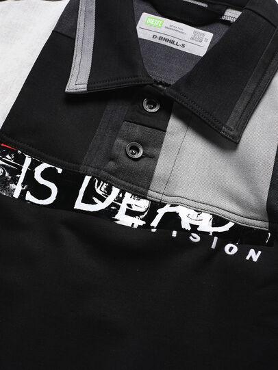 Diesel - D-BNHILL-S, Black - Sweaters - Image 3
