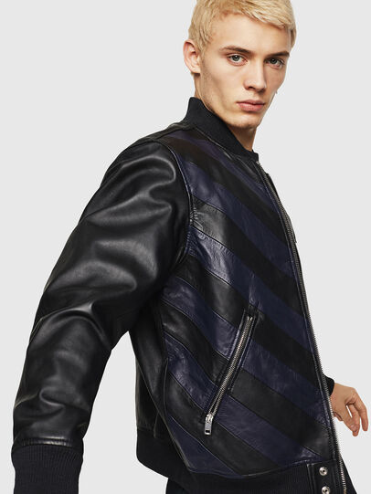 Diesel - L-OLEG,  - Leather jackets - Image 4
