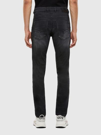 Diesel - Krooley JoggJeans 009KD, Black/Dark grey - Jeans - Image 2
