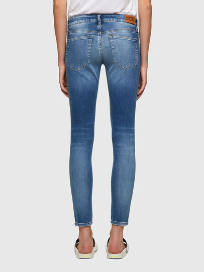 Diesel - Slandy Low 069ST, Light Blue - Jeans - Image 2