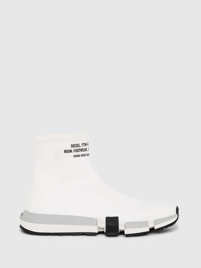 Diesel - H-PADOLA HIGH SOCK, White - Sneakers - Image 1