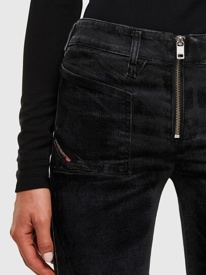 Diesel - Slandy 069TC, Black/Dark grey - Jeans - Image 3
