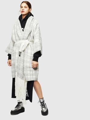 M-BOU, Grey/White - Winter Jackets
