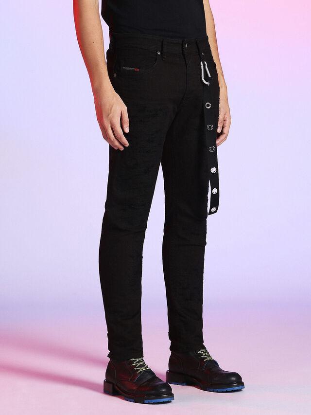 LU-THOMMER 0699U, Black Jeans