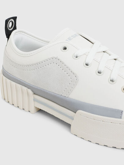 Diesel - S-MERLEY LOW, White - Sneakers - Image 4