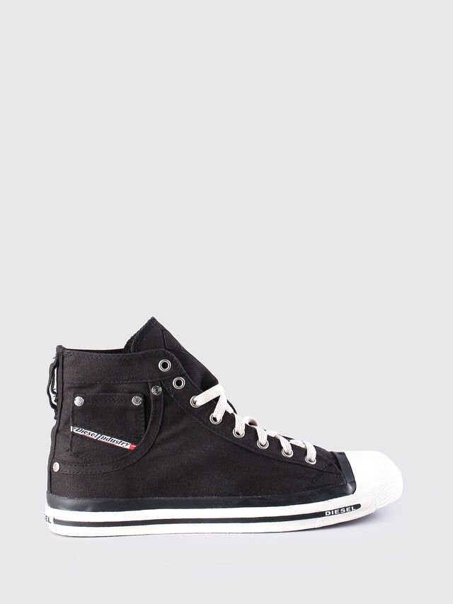 Diesel EXPOSURE, Black - Sneakers - Image 1