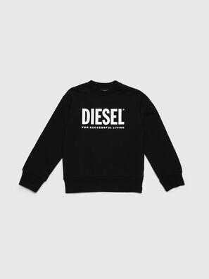 SCREWDIVISION-LOGO O, Black - Sweaters