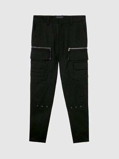 Diesel - P-CAR-ANT, Black - Pants - Image 4
