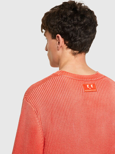 Diesel - K-KENTUCKY, Orange - Knitwear - Image 4