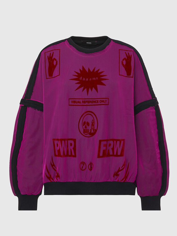 F-TRULY, Hot pink - Sweaters