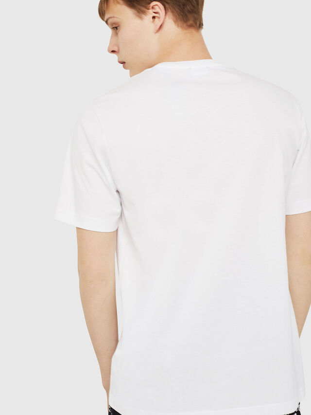 Diesel - T-JUST-Y16, White - T-Shirts - Image 2