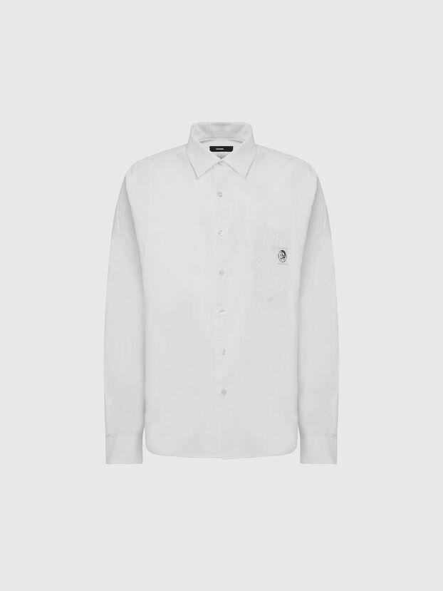 S-LOOMY-A, White - Shirts