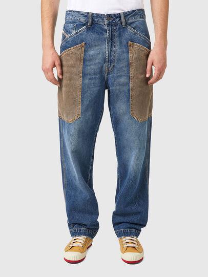 Diesel - D-Franky 0GCAY, Medium blue - Jeans - Image 1