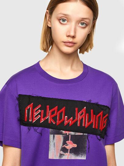 Diesel - T-AIRO, Violet - T-Shirts - Image 3