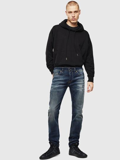 Diesel - Safado 0096U, Dark Blue - Jeans - Image 6