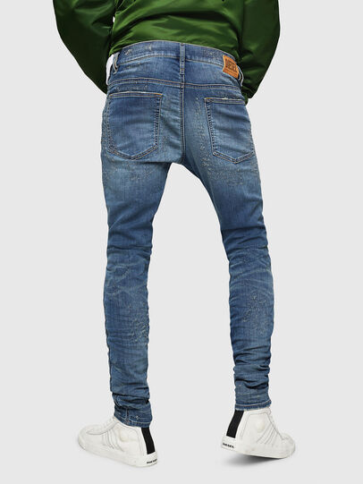 Diesel - D-Reeft JoggJeans 069HG, Medium blue - Jeans - Image 2