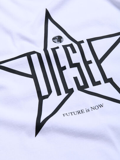 Diesel - TDIEGOYH, White - T-shirts and Tops - Image 3