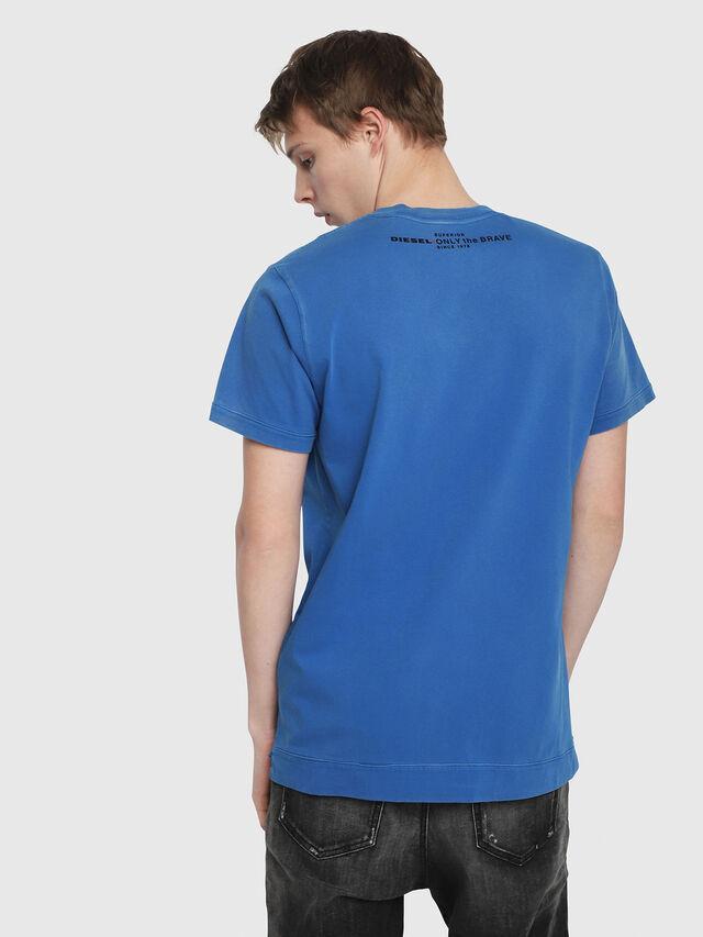 Diesel - T-SHOJI, Brilliant Blue - T-Shirts - Image 2