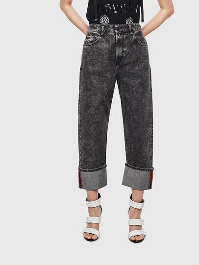 Diesel - D-Reggy 0099F, Black/Dark grey - Jeans - Image 1
